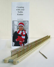 Noble Knitter 100: Adj. Knitting Board, Loom, Rake