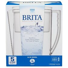 Brita Slim Water Filter Pitcher 40 oz Capacity