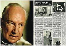 Coupure de presse Clipping 1980 (4 pages) Lloyd Nolan