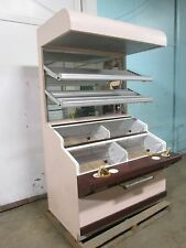 HD COMMERCIAL LIGHTED SELF-SERVE BAKERY/DONUTS/BAGEL DISPLAY MERCHANDISER CASE