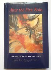 AFTER THE FIRST RAIN Literature & Fiction & Poetry Israeli Poems on War & Peace