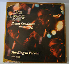 - THE SWING ERA BENNY GOODMAN into the 70's BOX SET Time Life Records & Books -
