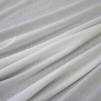 Stoff Meterware Baumwolle  Batist Voile weiß weiss  leicht luftig transparent