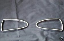 Jaguar S Type and XJ350 Chrome Front Fog Light Trim