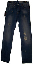 Zu ELEMENTS Gents Blu Super Jeans SLIM FIT NUOVI CON ETICHETTA