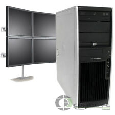 Trading 4 Monitor Computer HP XW4600 Intel E6850 3.0GHz CPU 4GB RAM 250GB HDD