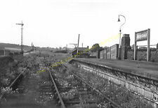 Codnor Park Railway Station Photo. Jacksdale. Pye Hill and Pinxton Line. GNR (4)