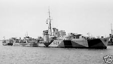 ROYAL NAVY K CLASS DESTROYER HMS KANDAHAR - MALTA CONVOYS - WWII