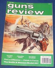 GUNS REVIEW MAGAZINE JUNE 1990 - THE SMITH & WESSON MODEL 627