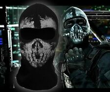 Call of Duty 10balaclava face ghost skull mask hood biker skateboard Cosplay COD
