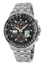 Citizen Men's JY0010-50E Eco-Drive Skyhawk A-T Titanium Radio Control Watch NEW