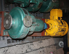 Durco ANSI stainless chemical process pump 2XI-107100 5 HP flame proof motor
