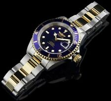 Invicta 8928ob Pro Diver Automatic Blue Dial/23K Gold/Stainless Steel Watch