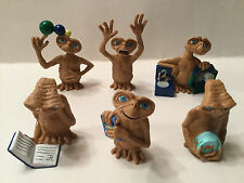 "Geoffrey E.T. The Extra-Terrestrial Lot of 6 2"" PVC Figures 2002 Toys-R-Us"