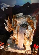"Christmas Village Display MAJESTIC 12"" WATERFALL platform base Dept 56 Lemax"