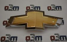 Chevrolet Camaro Front Grille Gold / Chrome Bow Tie EMBLEM new OEM 22761889