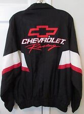 Chevrolet Racing Full Zip Lightweight Jacket Medium by Track Gear