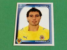 531 SANTI CAZORLA VILLARREAL CF UEFA PANINI FOOTBALL CHAMPIONS LEAGUE 2008 2009