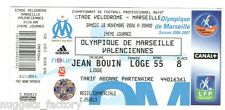 Billet  / Place  OM Olympique de Marseille - OM vs Valenciennes  ( 056 )