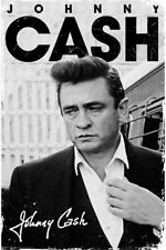 COUNTRY MUSIC POSTER Johnny Cash Signature