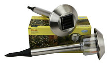 Wholesales 24pcs( 1 case )Stainless Steel Solar Lights.Item#08524 CLOSEOUT