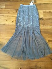 vivian gray  lace embroidery  maxi long skirt size S