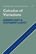 Calculus of Variations by Jurgen Jost - Hardcover (English) - New in shrink wrap
