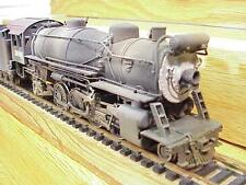 BRASS HO Steam Loco 2-8-2 & 12 Wheel Tender Weathered Finish VG+Deal!