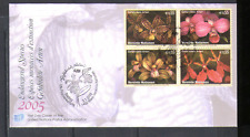 United Nations (V) 2005 ORCHIDS/Flowers 4v FDC n14982
