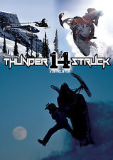 Thunderstruck 14, 13, 12, 11 and 10 DVD Klim Snowmobile DVD Package