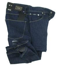 BOSS BLACK 5-Pocket Jeans OKLAHOMA in 30/34 navy blue 33% Leinen