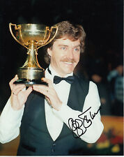 Cliff Thorburn Snooker Hand Signed Photo 10x8