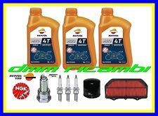 Kit Tagliando SUZUKI GSX-R 600 15 Filtro Aria Olio REPSOL 10W40 Candele NGK 2015