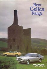 Toyota Celica 1600 2000 Coupe Liftback 1980-82 Original UK Sales Brochure 90205