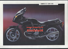 BMW R100RS (1992) Dealership Sales Brochure R 100 RS,Boxer Twin,1000
