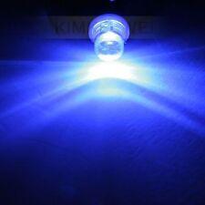 2x LED Lampen für Innenbeleuchtung Birnen BA9S T4W in Blau