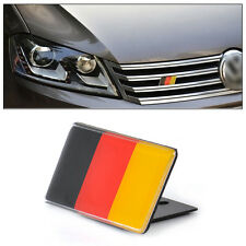 Car Front Grille German Flag Emblem Badge Decal Sticker For BMW AUDI VW Golf