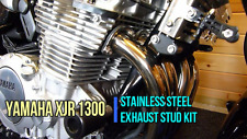 YAMAHA XJR 1300 EXHAUST STUDS & DOME NUT UPGRADE KIT IN STAINLESS