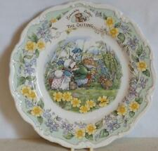 "ROYAL DOULTON ~ BRAMBLY HEDGE ~ 8"" Plate ~ THE OUTING ~ 1st Quality ~ Boxed"