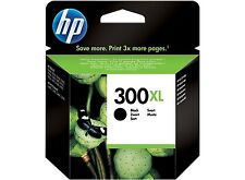 Genuine HP 300XL Printer Ink Cartridge Black High Capacity HP CC641EE