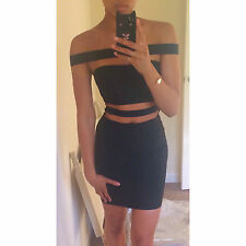Black Bandage Strappy Cut Out Dress Vestry Like House Of Cb Celeb Boutique XS