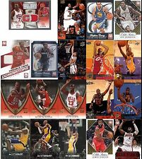 Lot of  2 Game Used Jersey 2 RC Blake Griffin James Harden & Base Upper Deck Set