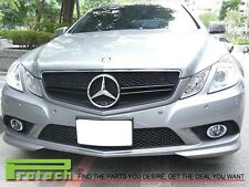 MBENZ C207 E350 E550 Coupe E63AMG Style Front Chrom Black 2 Fin Grille 2010-2013