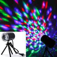 Mini Projector RGB DJ Disco Light Stage Xmas Party Show DJ Disco Laser Lighting