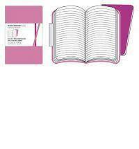 Moleskine Volant Pocket Ruled Pink Magenta & Magenta by Moleskine srl.ML-531
