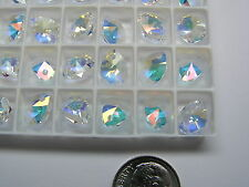 288 PIECES SWAROVSKI PENDANTS/BEADS #6128 10MM - CRYSTAL TRANSMISSION