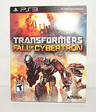 Playstation 3 PS3 Transformers Fall of Cybertron Game...Brand New!