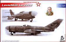 Unicraft Models 1/72 LAVOCHKIN La-200B Soviet Jet Fighter Project