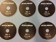 Star Wars Saga Complete 1-6 DVD Set Episodes I,II,III,IV,V,VI (READ)