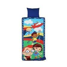 Little Einsteins Plush Nap Mat Soft Sleeping Preschool Toy Leo June Annie Rocket